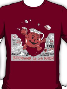 Kool-aid Man Vs Oppression - Tearing Down the Berlin Wall With Flavor T-Shirt