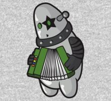 BubbleRock - Piano Accordion Hero One Piece - Long Sleeve