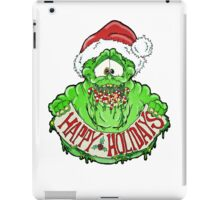 Slimer Christmas iPad Case/Skin