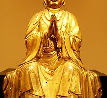Golden Buddha by Shara