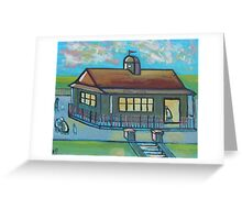 Park cafe (from my original acrylic painting) Greeting Card