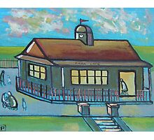 Park cafe (from my original acrylic painting) Photographic Print