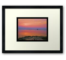 Sunset 531 Framed Print
