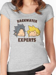 Backwater Experts! Women's Fitted Scoop T-Shirt