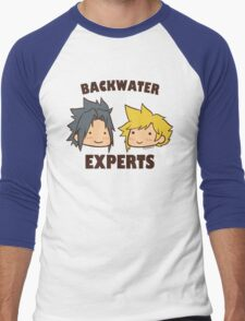 Backwater Experts! Men's Baseball ¾ T-Shirt