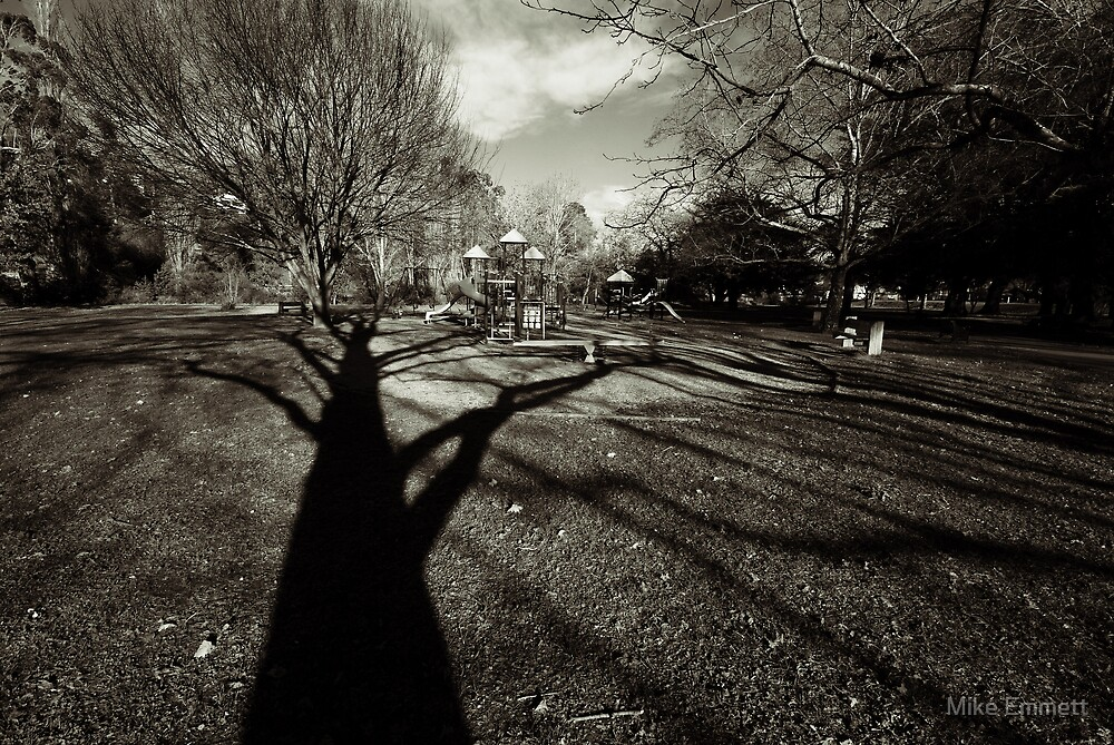Spooky Playground by Mike Emmett