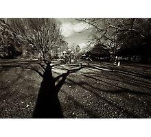 Spooky Playground Photographic Print