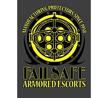 Failsafe Armored Escorts worn Photographic Print