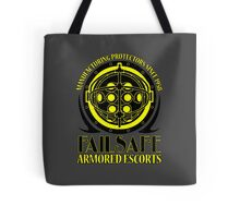 Failsafe Armored Escorts worn Tote Bag