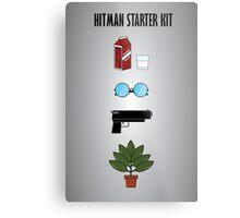 Hitman Starter Kit Metal Print
