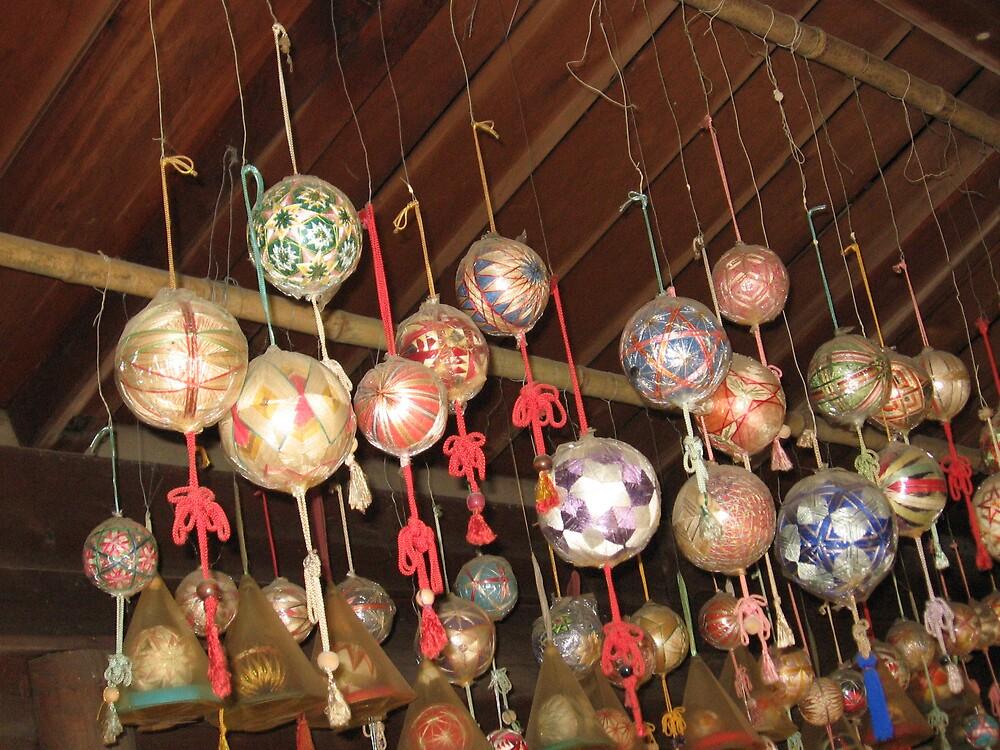 Temari Balls 2 - Ishiteji temple Matsuyama Ehime  by Trishy
