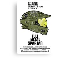 Full Metal Spartan Canvas Print