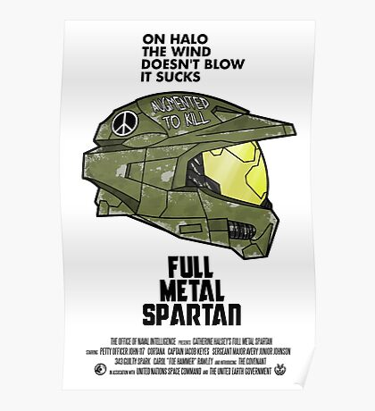 Full Metal Spartan Poster