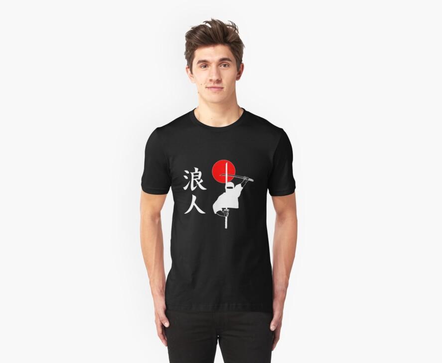 Ronin - Masterless Samurai by SPTees