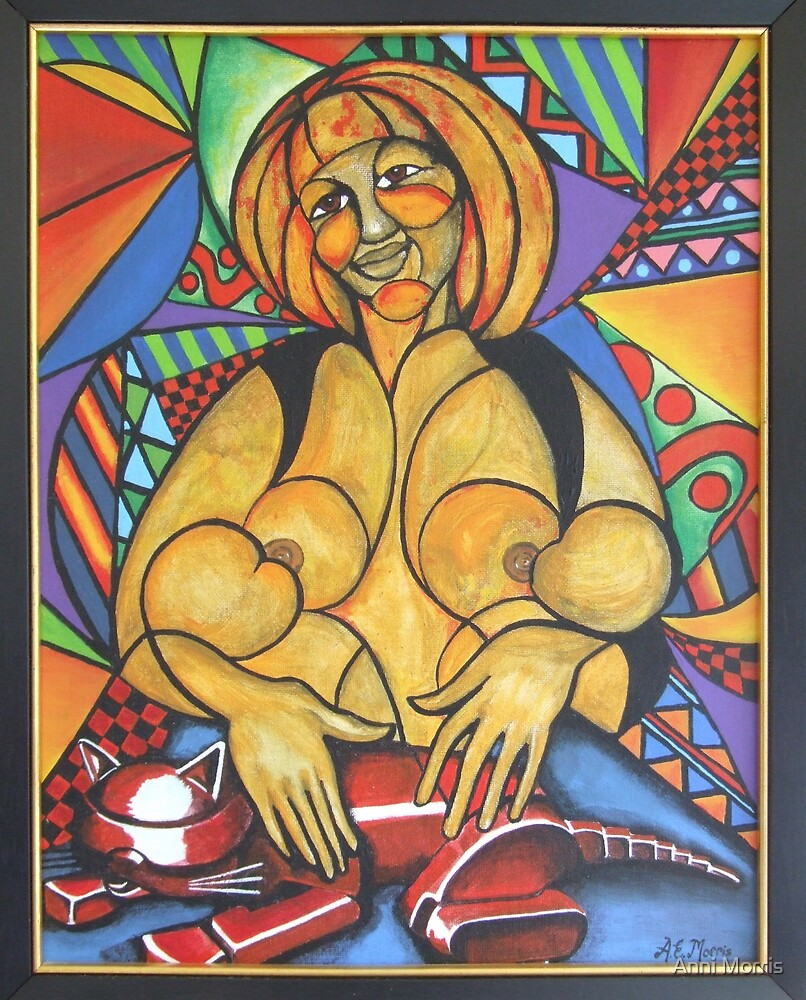 Madre amorosa (Loving mother) by Anni Morris