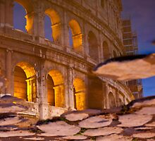 Colosseum reflection [square] by scottimage