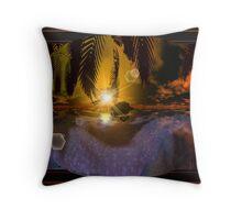 The Lagoon Throw Pillow