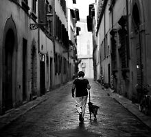 Walking the Dog, Florence by scottimage