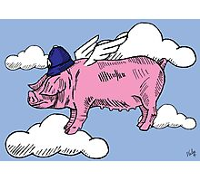 Pigs Might Fly Photographic Print