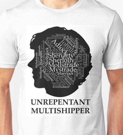 Unrepetant Multishipper Unisex T-Shirt