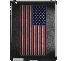 American Flag Stone Texture iPad Case/Skin