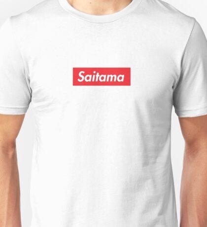 Saitama One Punch Man HD Logo Supreme  Unisex T-Shirt