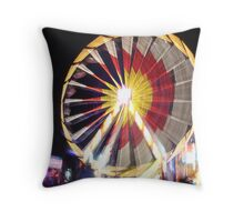 Big Wheel Throw Pillow