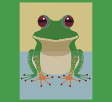 FROG IN WATER Kids Clothes