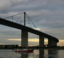 West Gate Bridge 1 by Dannii Cockerell