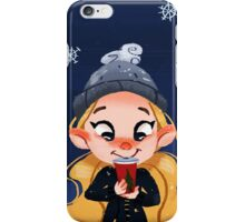 Christmas drinks! iPhone Case/Skin