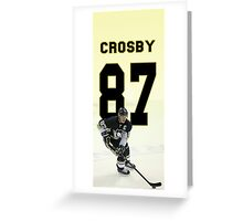 Sidney Crosby - Pittsburgh Penguins Greeting Card