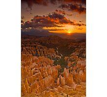 Bryce Canyon Sunrise Photographic Print