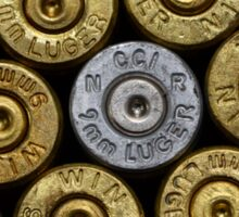 9mm Brass #1 Sticker