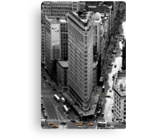 Flatiron Building - NY Canvas Print