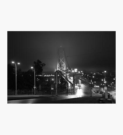 Angus L MacDonald Bridge Photographic Print