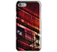 Fire at Sunset iPhone Case/Skin