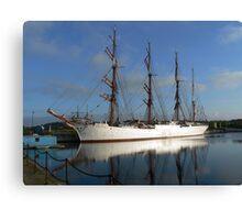 Russian Sail Training Ship Canvas Print