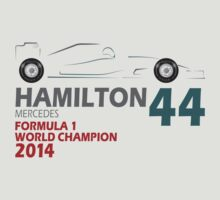 Lewis Hamilton World Champion 2014 by Leopard