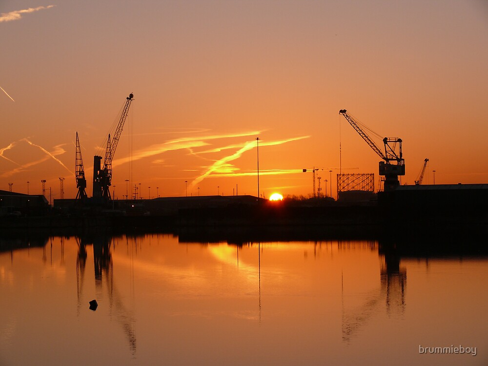 Industrial Sunrise (2) by brummieboy