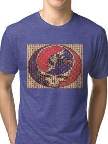 Greatfull Dead Teddy Bears Tri-blend T-Shirt