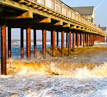 Southwold Pier in Spring by Andrew Milbourn
