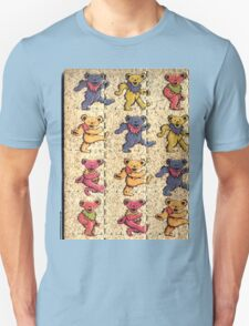 Greatfull Dead Teddy Bears Detail T-Shirt