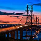 Forth Road Bridge by Chris Clark
