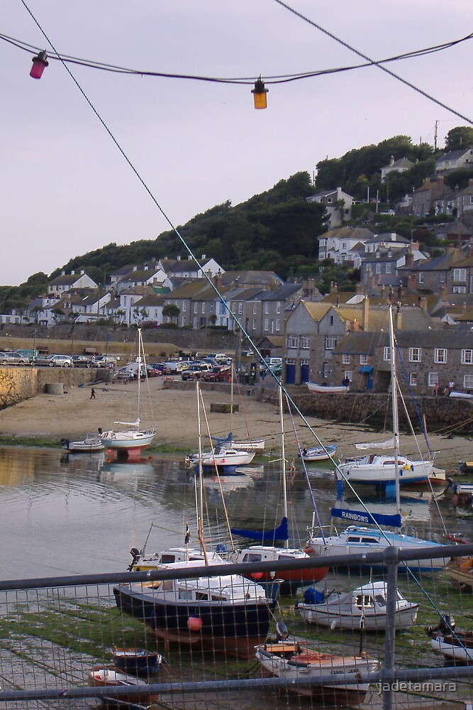 Mousehole Harbour by jadetamara