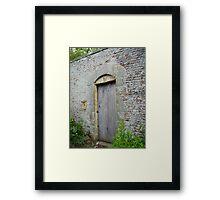 Walled Garden take 2 Framed Print