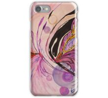 Abstract Flowing Butterfly iPhone Case/Skin