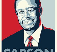 Ben Carson 2016 by rightposters