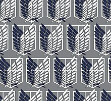 Survey Corps Pattern by aghoneim