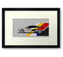 Cadillac CTS V Coupe Race Car Framed Print