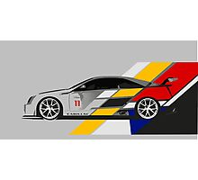 Cadillac CTS V Coupe Race Car Photographic Print